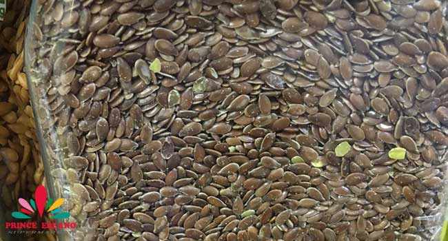Flaxseed in shelf at Ebeano Supermarket