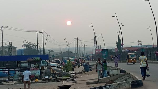 harmattan in Lagos state