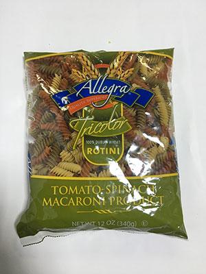 Allegra Penne Rotini Twist-340g