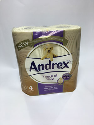 Andrex Touch Of Care