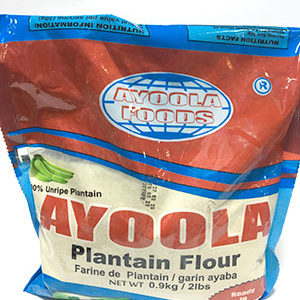 Ayoola Plantain Flour 0.9Kg