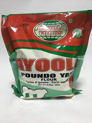 Ayoola Poundo Yam 0.9Kg