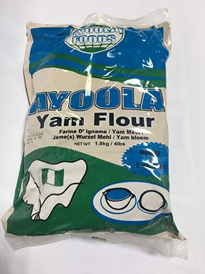 Ayoola Yam Flour 1.8kg