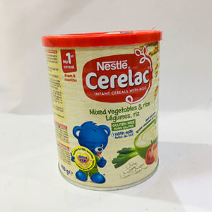 Cerelac 400g Mixed Vegetables and Rice