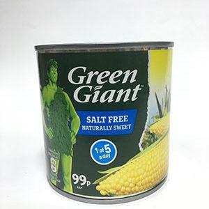 Green Giant Sweet Corn Salt Free