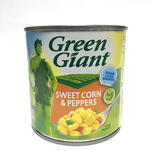 Green Giant Sweet Corn and Peppers