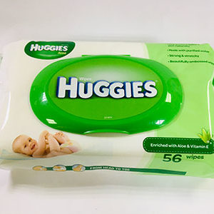 Huggies Wipe Aloe and Vitamin E