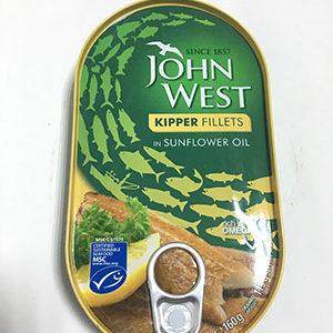John West Kipper Fillets 160g