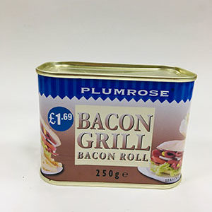 Plumrose Bacon Grill Bacon-Roll-250g