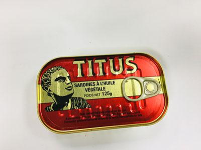 Titus-Sardines