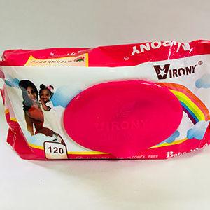 Virony Baby Wipe Pink