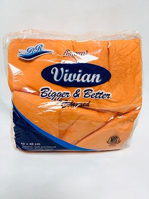 Vivian Orange Serviette