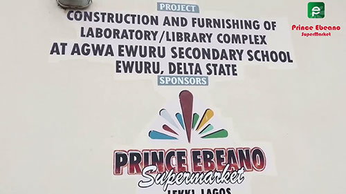 Agwa Ewuru Secondary School Prince Ebeano Supermarket Project