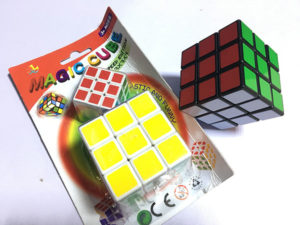 Magic Cube play toy for children